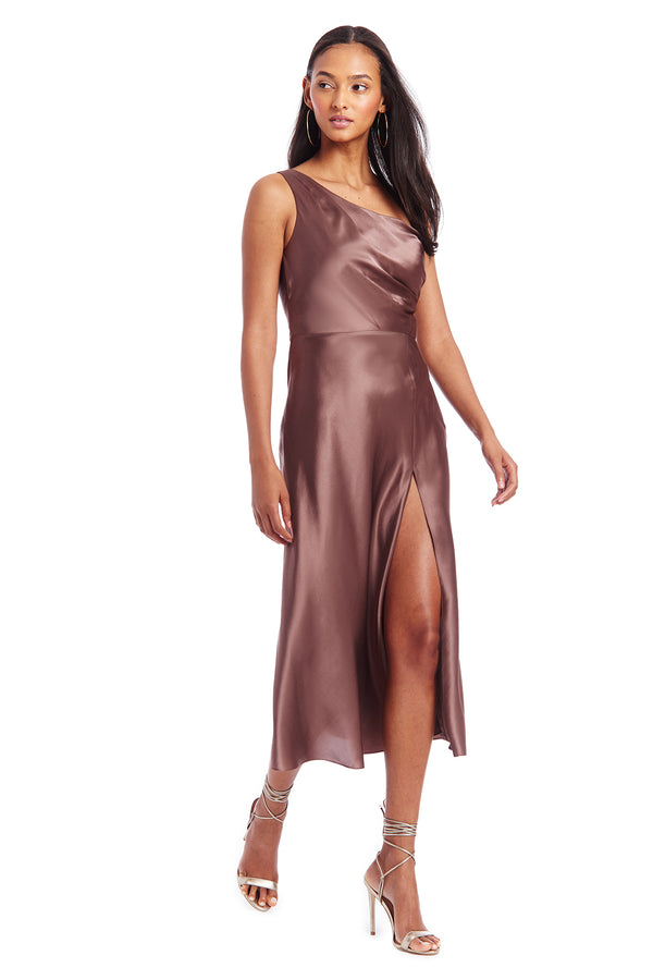 Amanda Uprichard Tayla Dress - Nutmeg | Women's Dresses