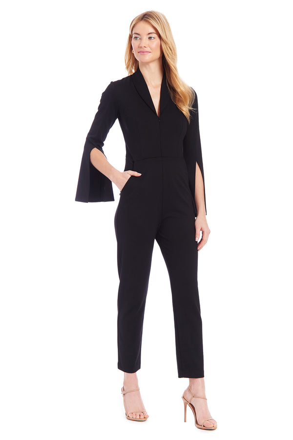 Amanda Uprichard Tempest Jumpsuit - Black | Women's Jumpsuits