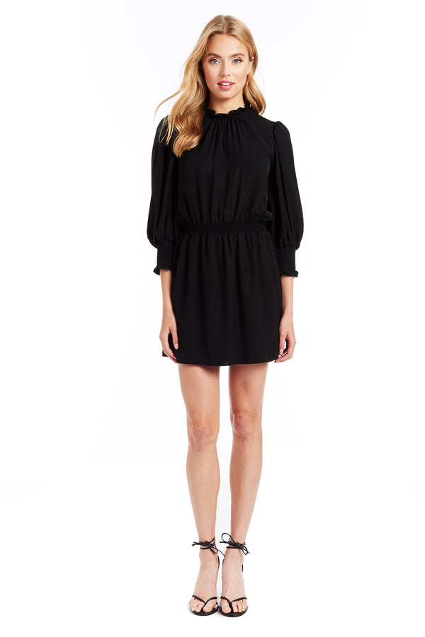 Amanda Uprichard Vista Dress - Black | Women's Dresses