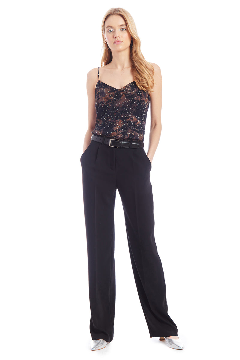 Amanda Uprichard Wallace Pants - Black | Women's Pants