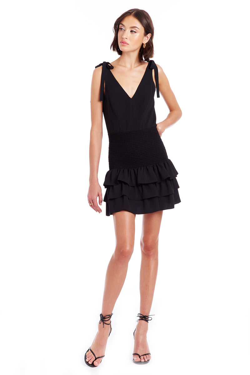 Amanda Uprichard Zita Dress - Black | Women's Dresses