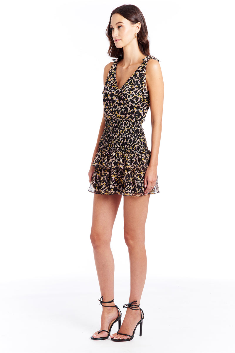 Amanda Uprichard Zita Dress - Leopard | Women's Dresses