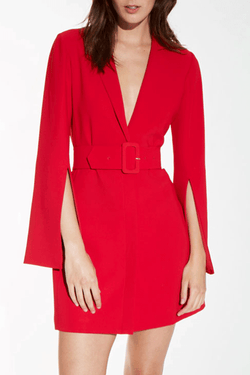 Amanda Uprichard Antwerp Blazer Dress - Womens Dresses