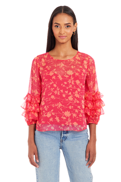 Freesia Top