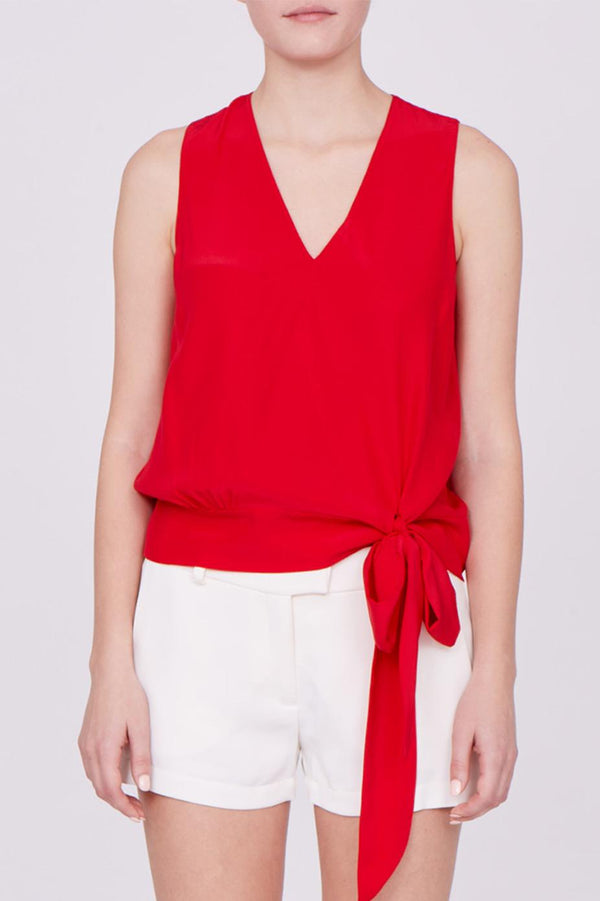 Amanda Uprichard Leila Top - Womens Tops