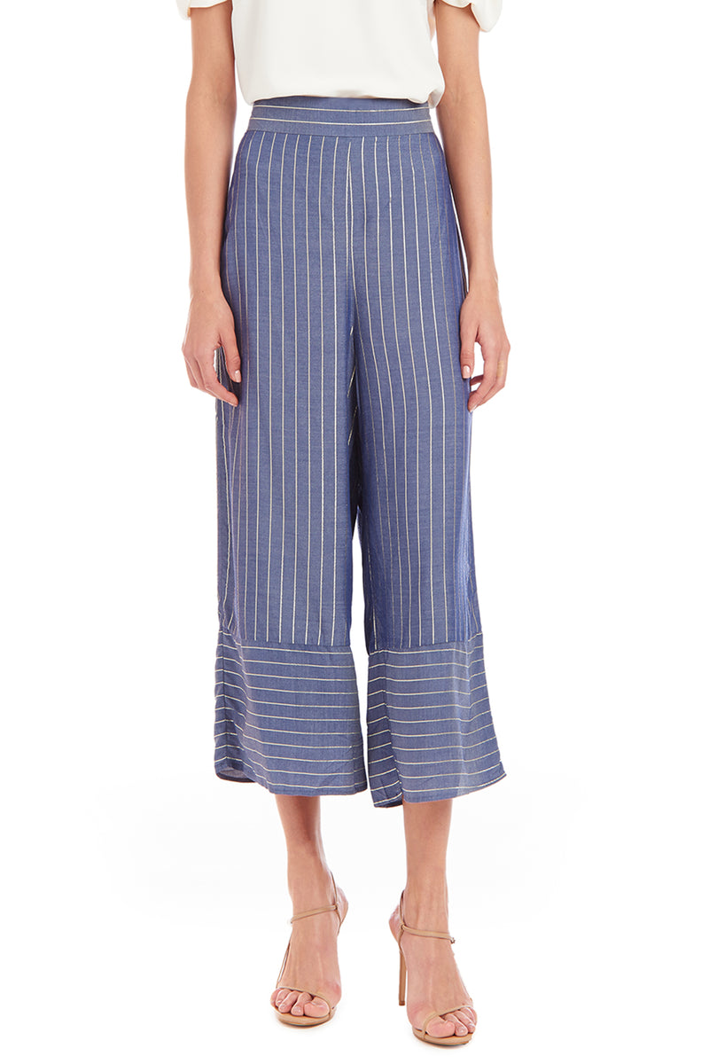 Amanda Uprichard Ravine Pant - Bainbridge Stripe | Women's Bottoms
