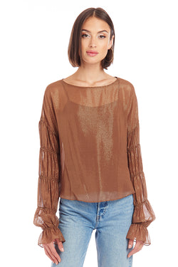 Amanda Uprichard Schmidt Top - Harvest | Women's Tops