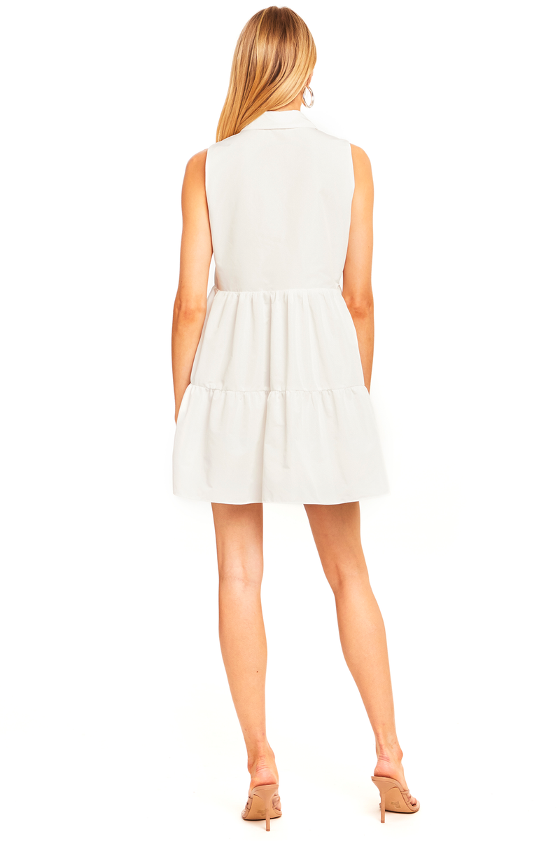 Sleeveless Pierre Dress