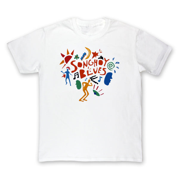 Colour Design White T-Shirt