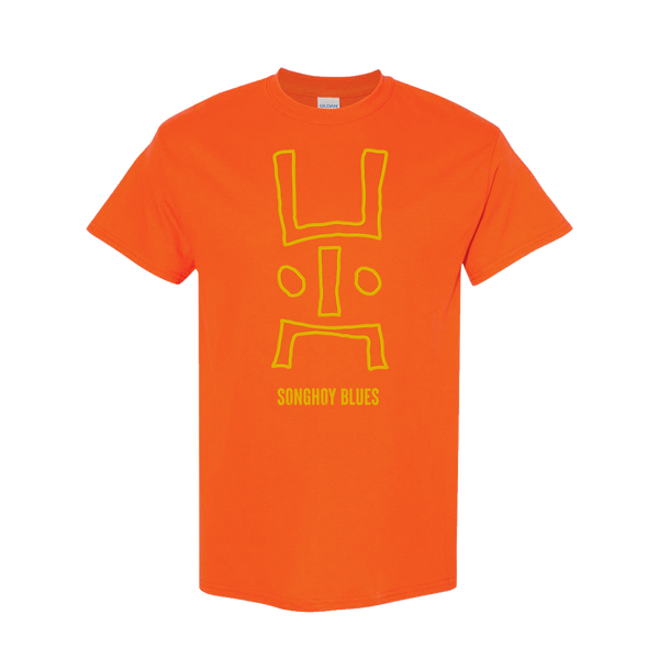 DOGON TRIBUTE ORANGE T-SHIRT
