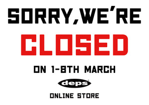 SORRY,WE'RE CLOSED