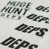 deps HUGE HUNT L/S TEE【WHITE】