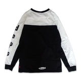 deps L/S TEE【BLACK×WHITE】