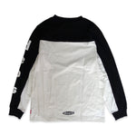 deps L/S TEE【WHITE×BLACK】