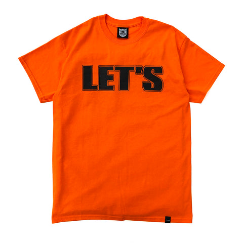 GO OUT×deps×BRGD TEE【SAFETY ORANGE】