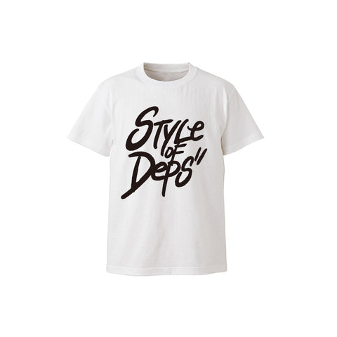 deps STYLE OF DEPS TEE【WHITE】