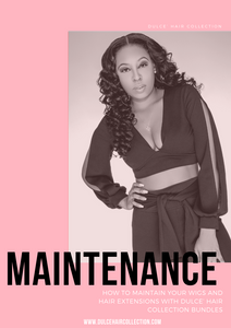 Dulce' Hair Collection Maintenance eBook