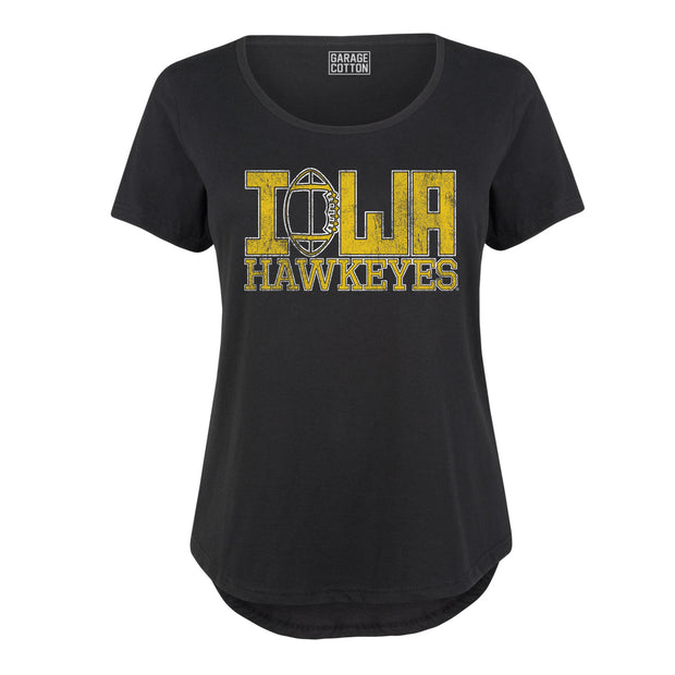 Iowa Football Women's Plus Size T-Shirt