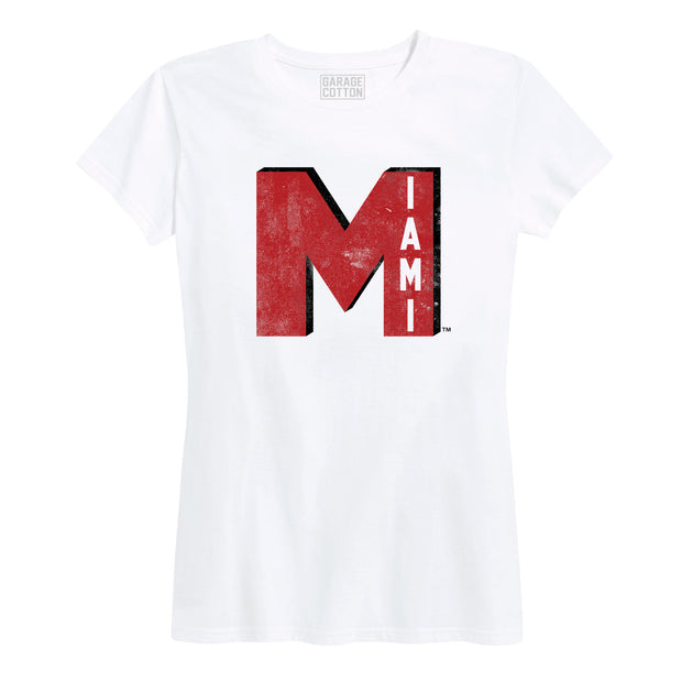 Big M Miami University Ohio Women's Short Sleeve T-Shirt