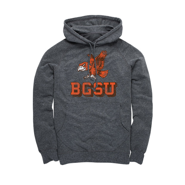 BGSU Bowling Green Falcons Vintage Men's Hoodie