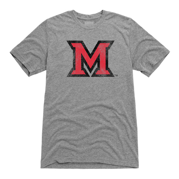Big M Miami University Men's Short Sleeve T-Shirt