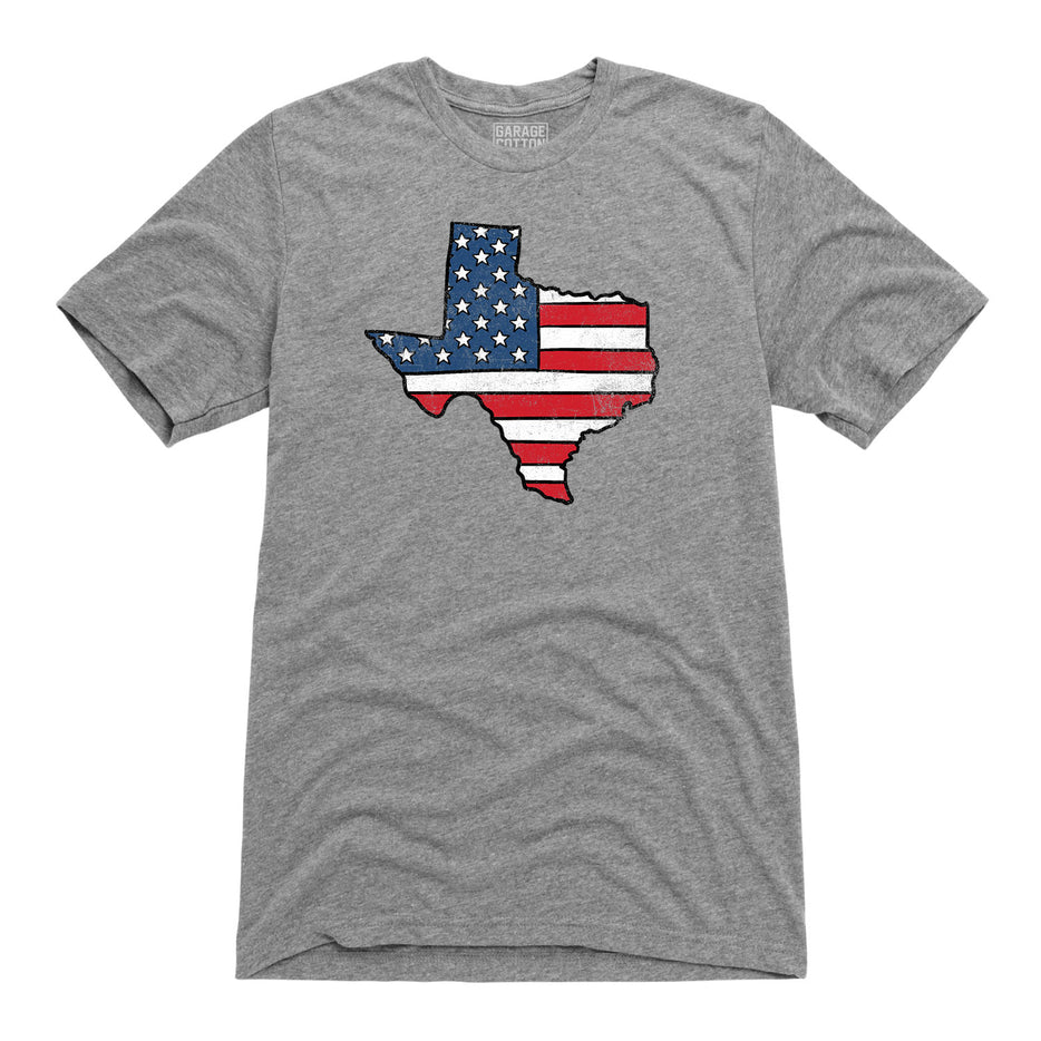 Red White and Texas Tee
