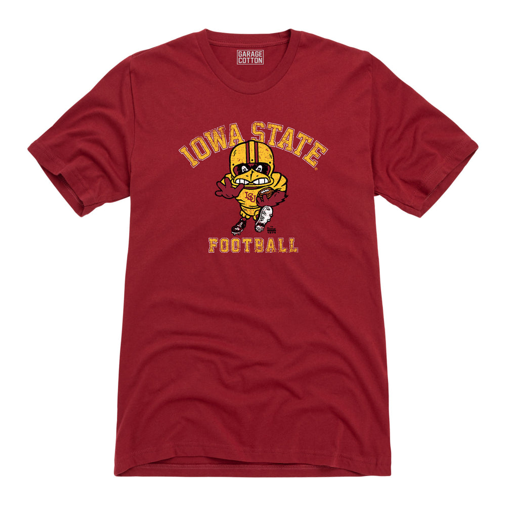 Iowa State University - Gridiron Cy - Men's T-Shirt - Red