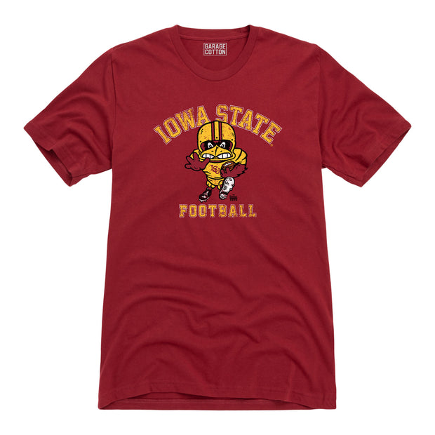 Iowa State Football Men's Short Sleeve T-Shirt