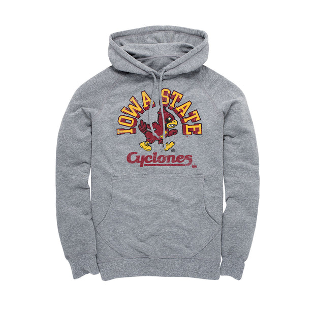 Iowa State University - Unstoppable Cy - Men's Hoodie - Grey
