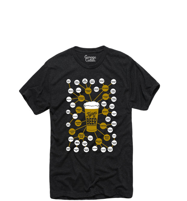 Types of Beer Tee