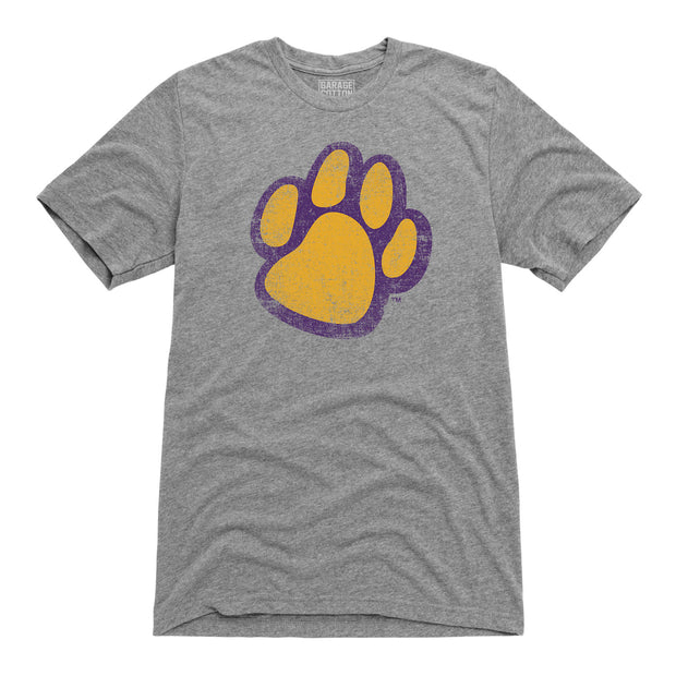 Panther Paw Northern Iowa Men's Short Sleeve T-Shirt
