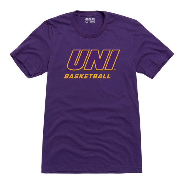 UNI Basketball Northern Iowa Men's Short Sleeve T-Shirt
