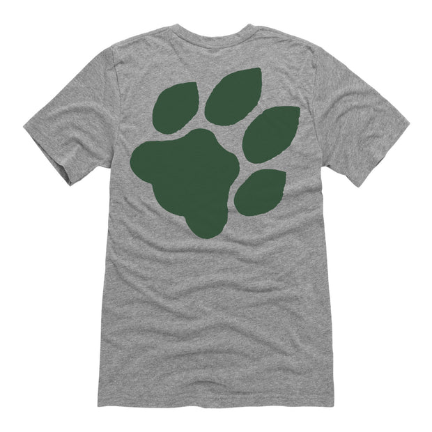 Green Ohio And Paw - Men's Short Sleeve T-Shirt