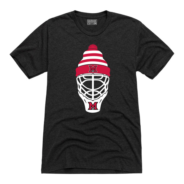 Miami Ohio Hockey Mask Men's Short Sleeve T-Shirt