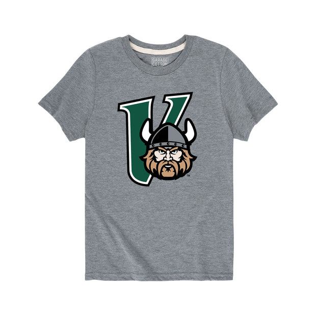 Cleveland State Vikings Mascot Kids Short Sleeve T-Shirt