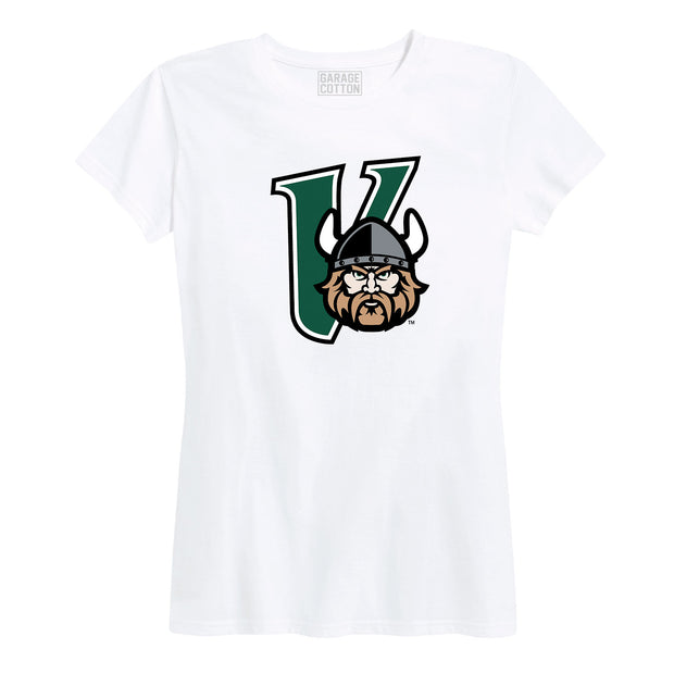 Cleveland State Vikings Mascot Women's Short Sleeve T-Shirt