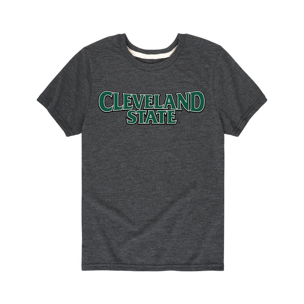 Cleveland State Kids Short Sleeve T-Shirt