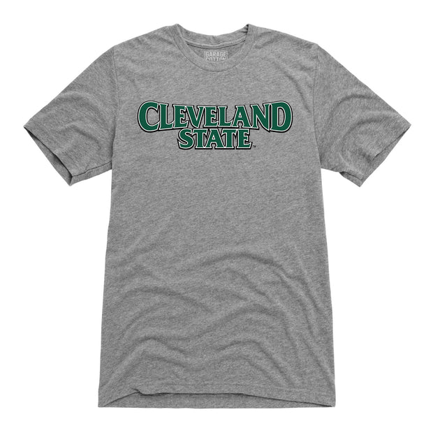 Cleveland State Men's Short Sleeve T-Shirt