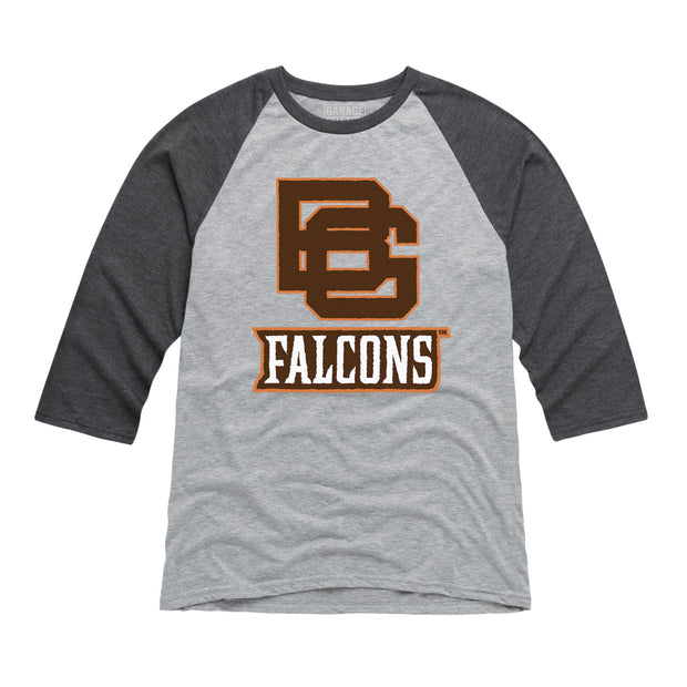 BGSU Bowling Green Falcons Men's Raglan