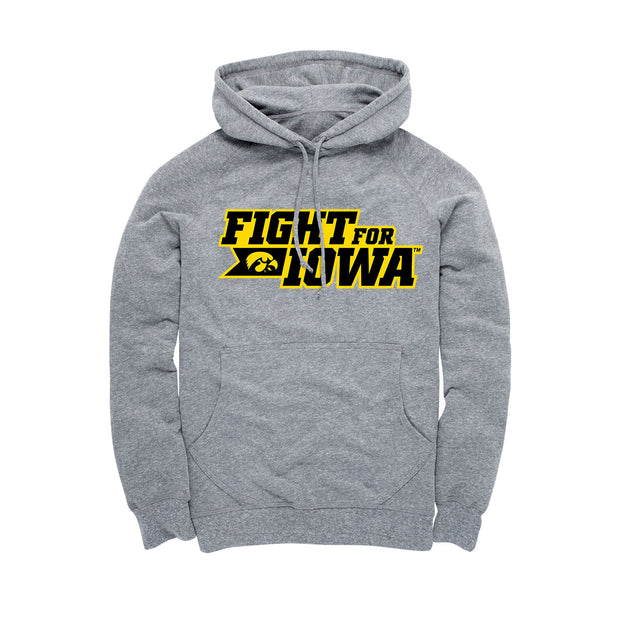 Fight For Iowa Football Men's Hoodie