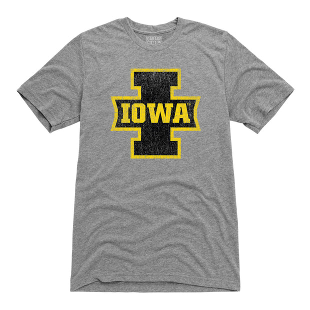 Iowa Banner Football Men's Short Sleeve T-Shirt