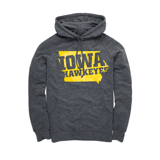 University of Iowa - Iowa Hawkeyes Silhouette - Men's Hoodie