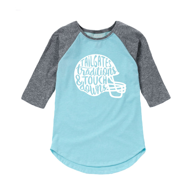 Girls Raglan
