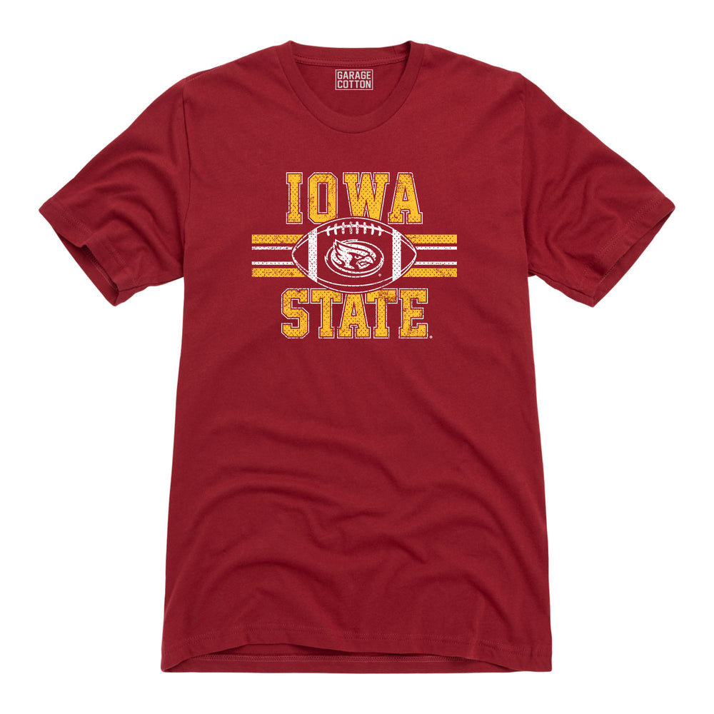 Iowa State Football Logo Tee