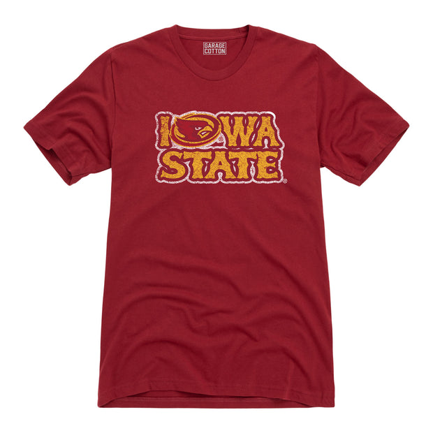 Iowa State Men's Short Sleeve T-Shirt