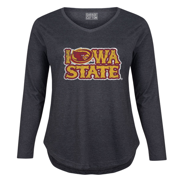 Iowa State Women's Plus Size Long Sleeve T-Shirt
