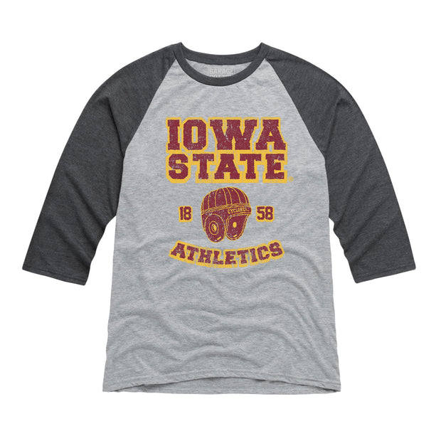 Iowa State Athletics Men's Raglan