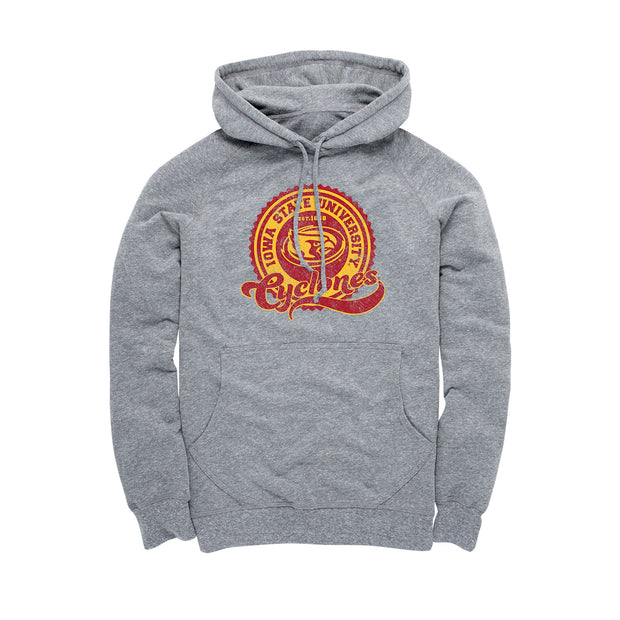 Iowa State University Cyclones Circle Men's Hoodie