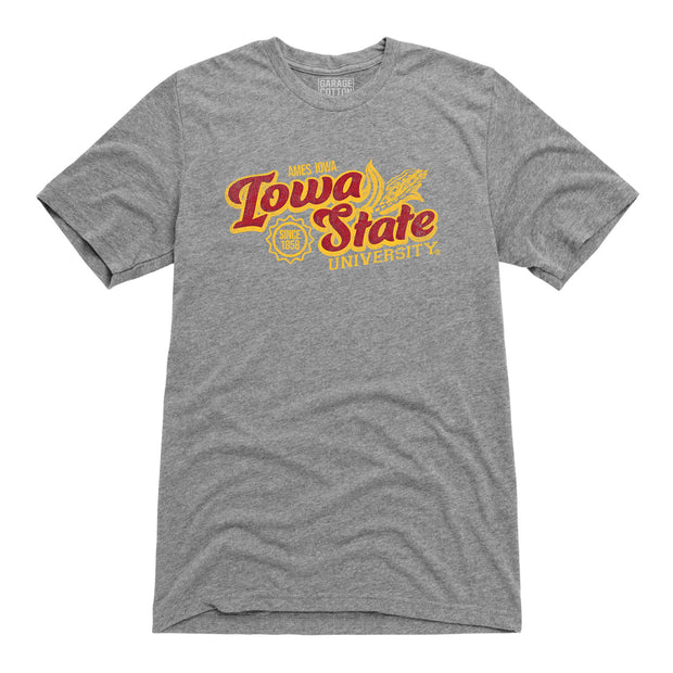 Ames Iowa State Farm Men's Short Sleeve T-Shirt