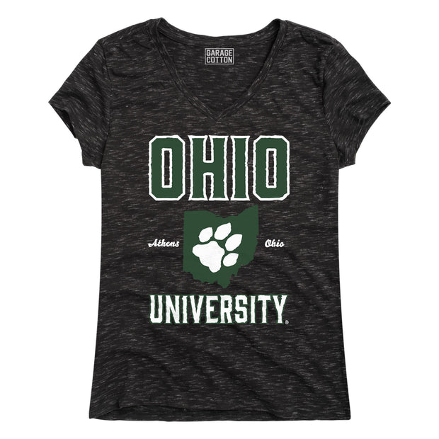 Athens, Ohio - Women's V-Neck T-Shirt